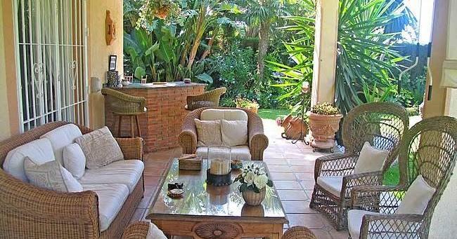 Fotos de terrazas terrazas y jardines dise os de casas for Casa y jardin bazaar 2013