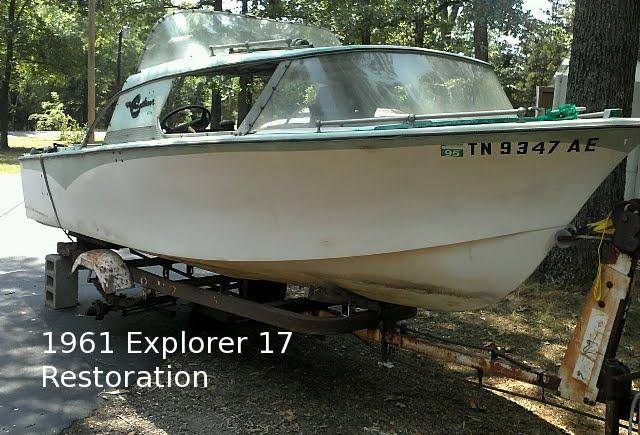 1961 Crestliner Explorer