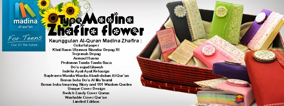 alQuran Rainbow Medina now available. Hurry up stock sangat limited..