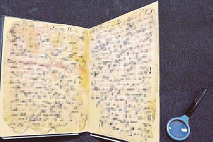 'Al-Quran Tertua Dunia' Diragukan Kesahihannya