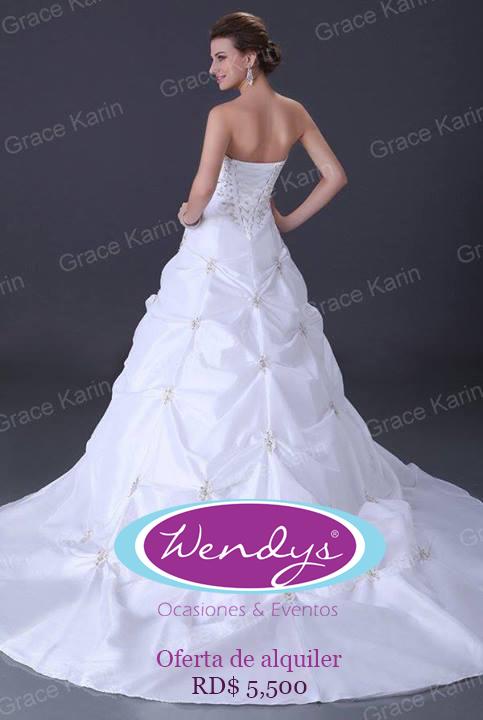 Vestidos de novia en alquiler en republica dominicana
