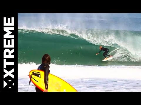 Surfing Barrel Session French Playground