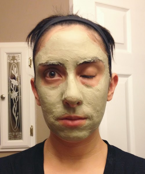 Letting the Clay Mask Dry :: The Acne Experiment