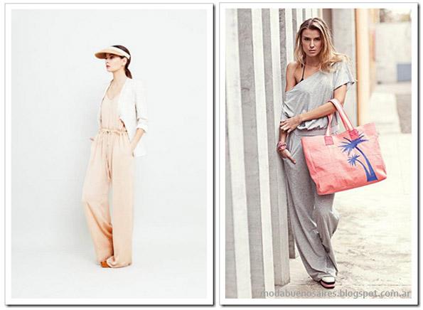 Monos moda verano 2013. Indumentaria femenina.