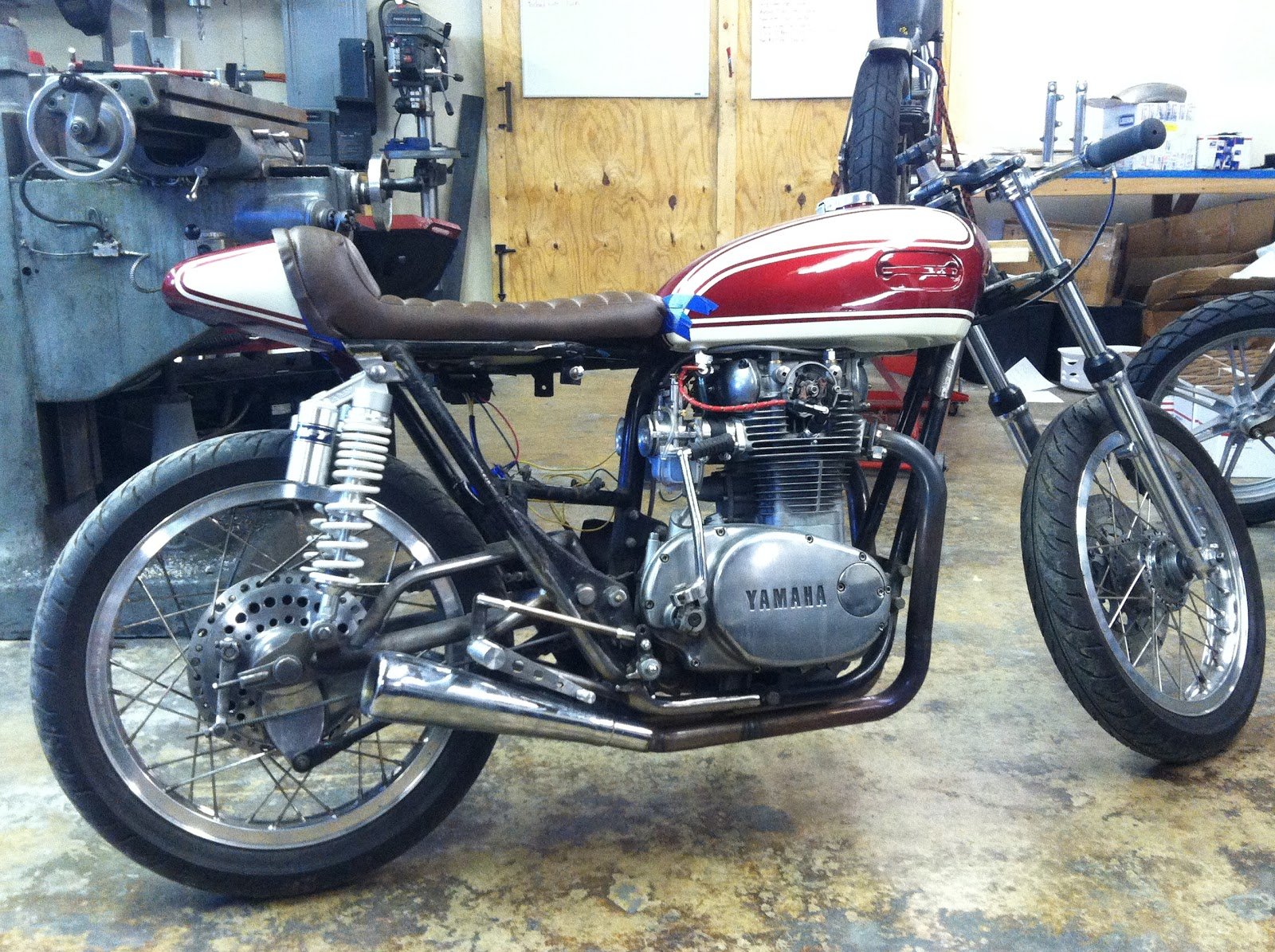 74-Up chopper bobber hardtail cafe racer Hughs HandBuilt XS650 Motor Mount Kit