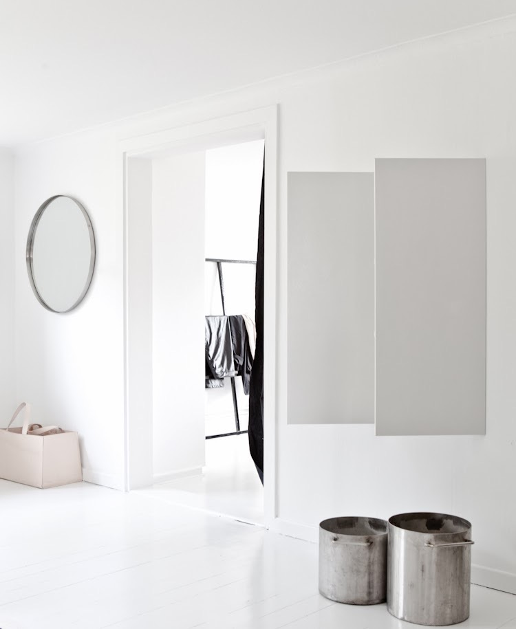 Minimalistic white interior