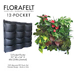 Florafelt 12-pocket Planter