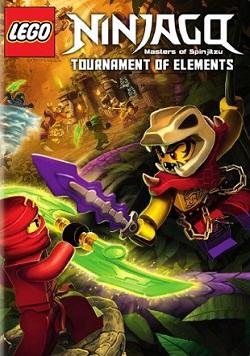 Filme Ninjago Torneio dos Elementos