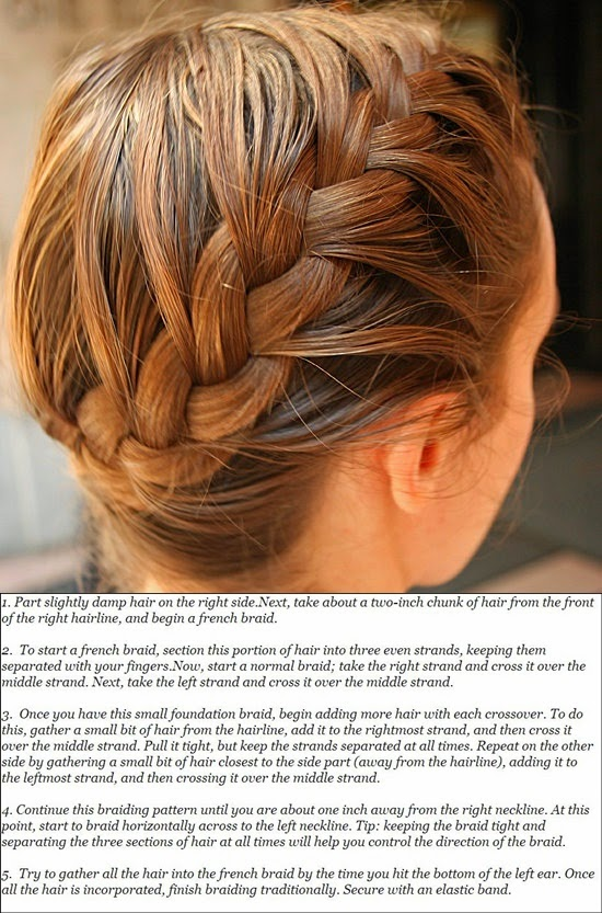 French Braided bangs