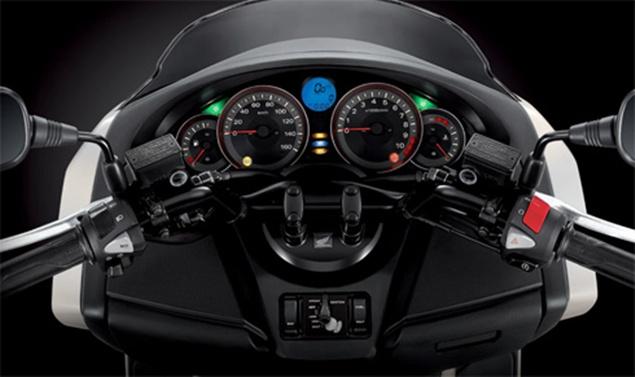 Honda Forza 300 Interior
