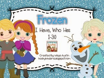 http://www.teacherspayteachers.com/Product/Frozen-I-Have-Who-Has-1-30-1598710