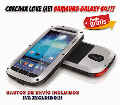 carcasa Samsung Galaxy S4