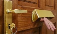 Letterbox Guards supplied and fitted by Keytek emergency Locksmiths