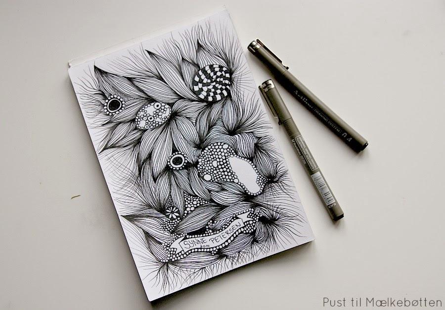 doodle tegning begynder