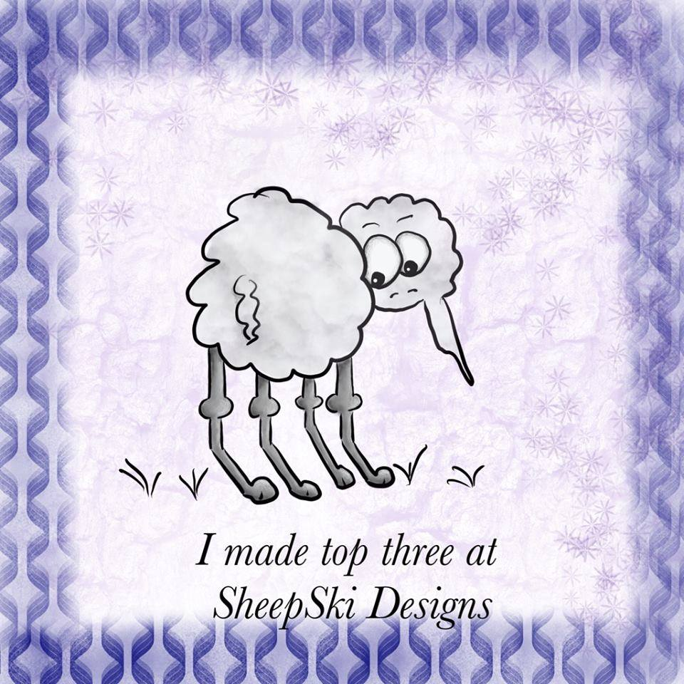 Proud to be in Top 3 at Sheepski Designs