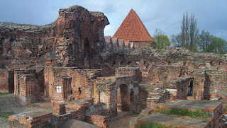 Teutonic Knights' castle in Torun