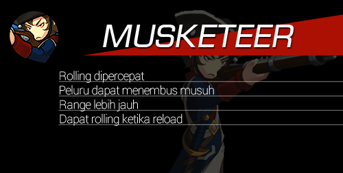 Hero Reform Musketeer