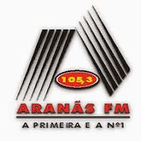 ouvir a Rádio Aranãs FM 105,3 Capelinha MG