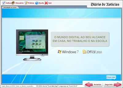 CURSO INTERATIVO DIÁRIO DE NOTÍCIA CD 29 - USO DO EXCEL WEB APP E SEGURANÇA NO EXCEL 2010
