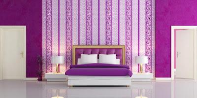 20 desain wallpaper dinding cantik untuk kamar tidur