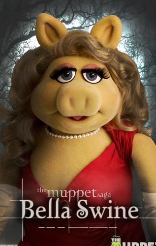 The Muppets (La Pelìcula): Se promocionan al mejor estilo de Twilight