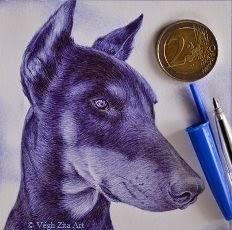 Miniatűr kutyaportré