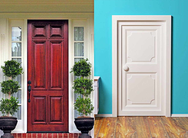 906 #239BA8 Door Slabs And Frames. Entry Doors (and Otherexterior Doors) Are  wallpaper Exterior Slab Doors 45051228