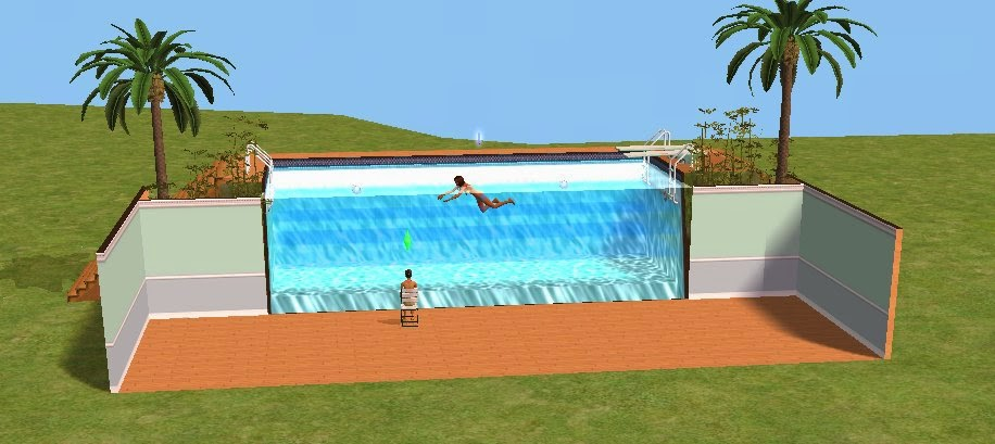 Spaziotivo coming out 01 the sims un gioco inutile for Pool design sims 3