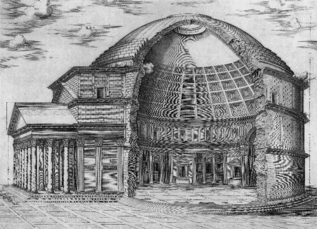 Roman Architecture Pantheon