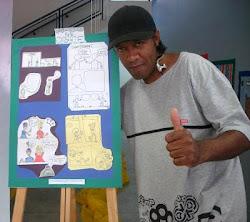 Valter Luis - Expondo seus Quadrinhos