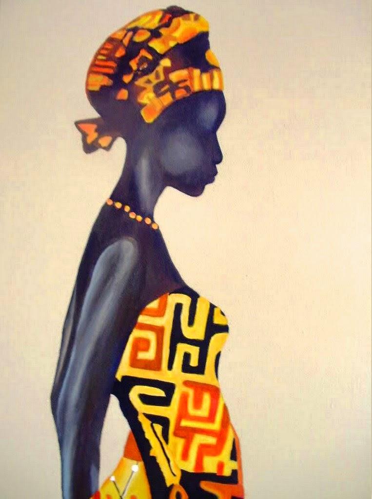 Pictures cuadros decorativos negras africanas pinturas - Cuadros de pintura ...