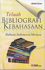 toko buku rahma: buku TELAAH BIBLIOGRAFI KEBAHASAAN, pengarang abdul chaer, penerbit rineka cipta