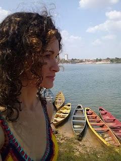 Vista do Rio Tocantins e Imperatriz, da Praia da Belinha - TO.