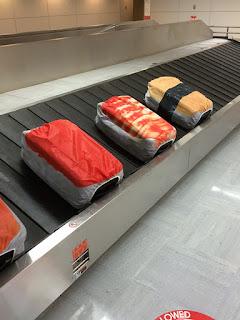 寿司 スーツケースカバー たまご マグロ えび