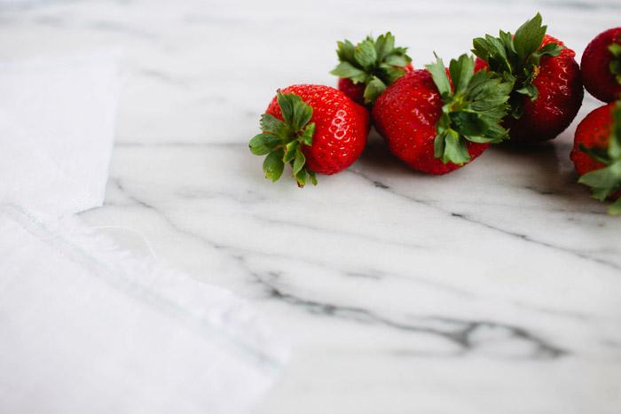 strawberries, Brittany Wood