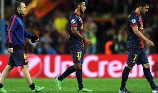 3 tử huyệt khiến Barcelona thảm bại tại Champions League