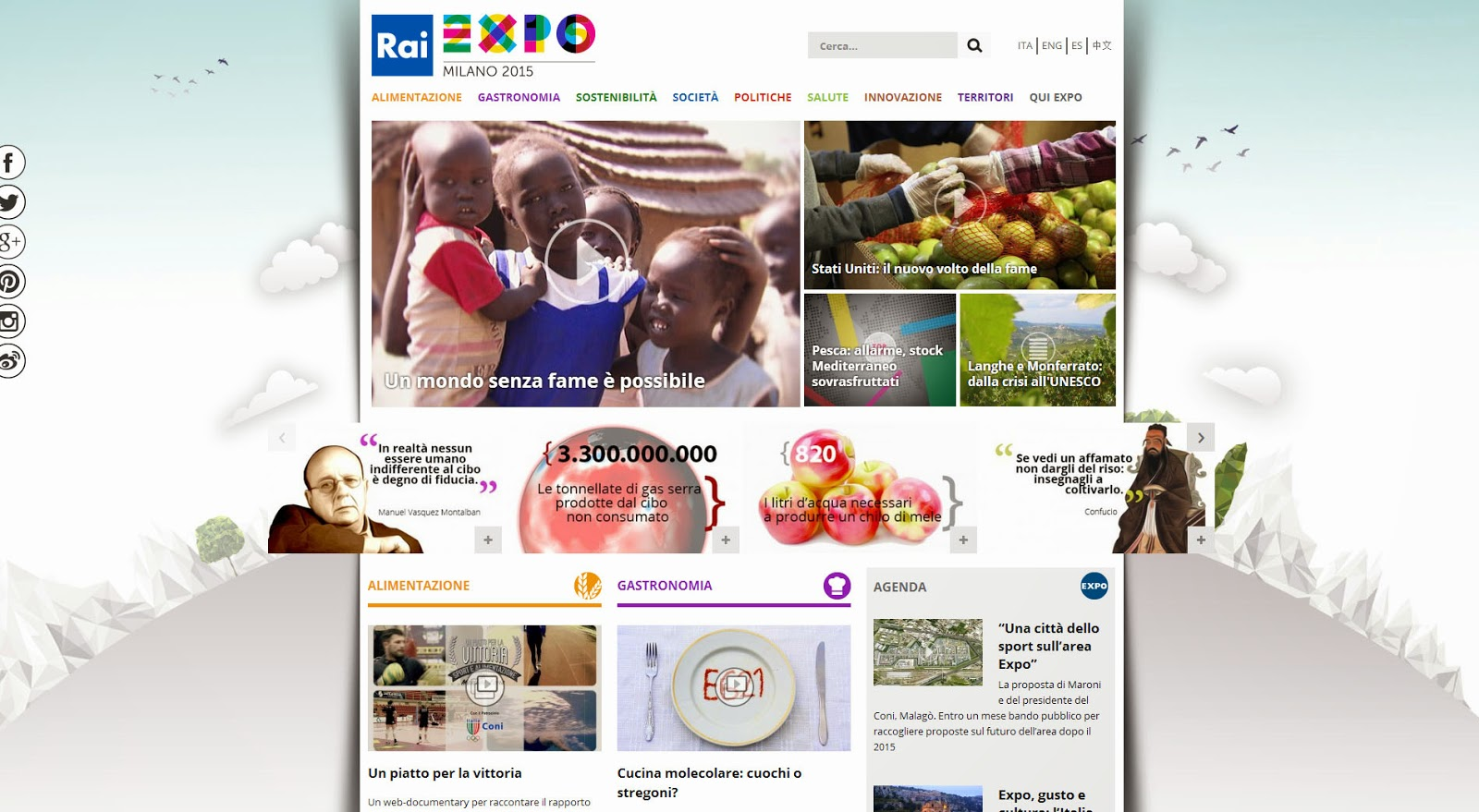 RaiExpo Website