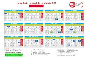 Calendario 2018 Santander