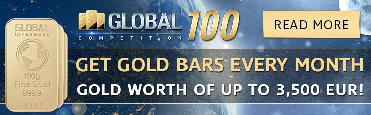 Genuine and simple way to earn gold bars in GLOBAL INTERGOLD!     Earn 7000 euros for 60 - 120 days.