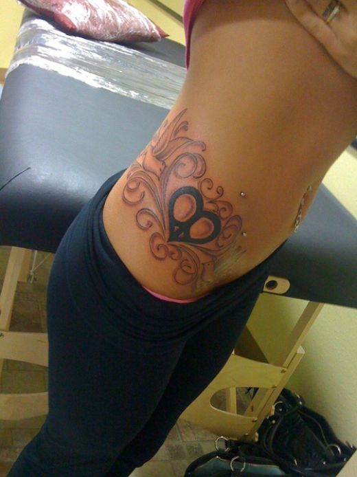 Tattoos For Girls On Side