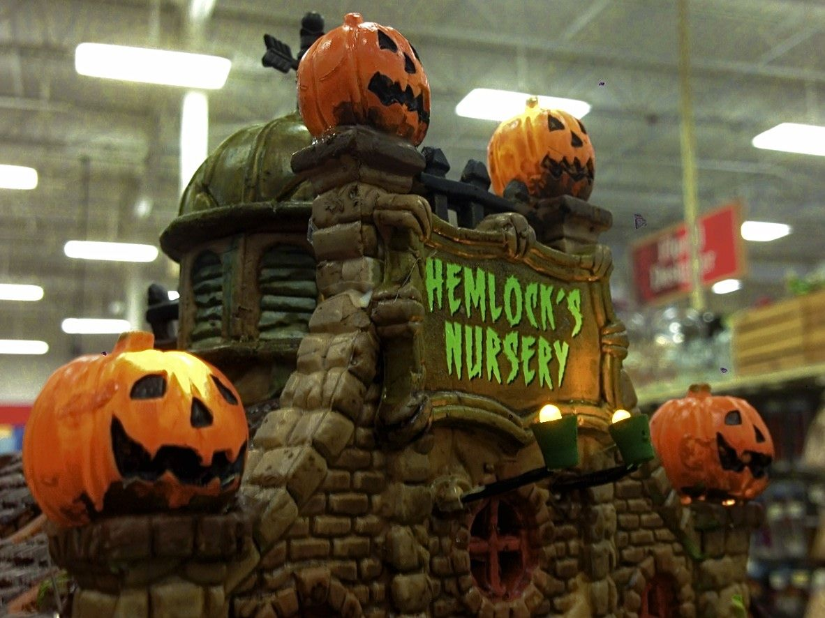 incredible halloween village at michaels - Michaels Halloween
