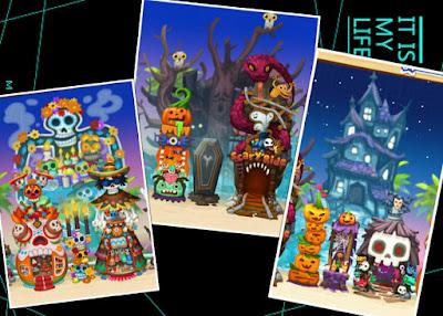 Happy Street Halloween Theme Combo Level 2
