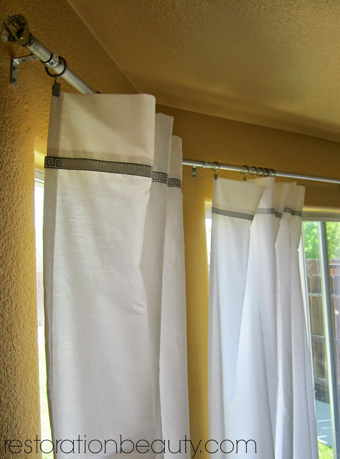 Bed bath beyond curtain rods