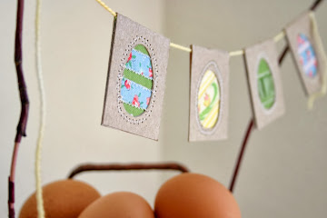 Holiday Favorites: Upcycled Easter Egg Bunting