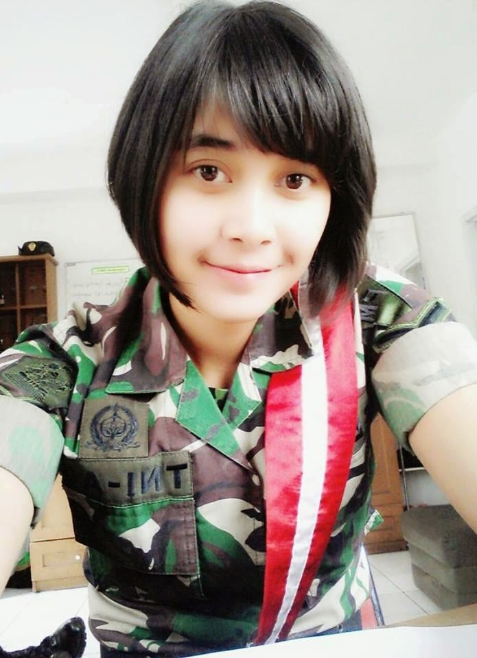 foto tni tentara cantik indonesia my lite blog