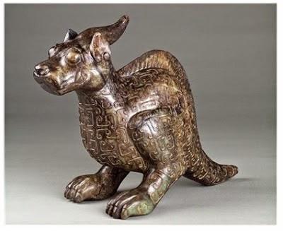 Saurolophus Dinasti Shang