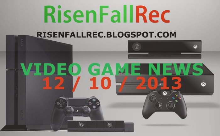 Top Daily Video Game News 12.10.2013