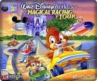 Walt Disney World Quest Racing Game Portable 1