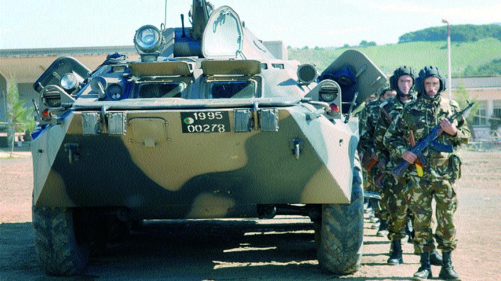 Fuerzas Armadas de Argelia BTR-80