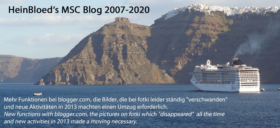 HeinBloed's MSC-Blog 2007-2020